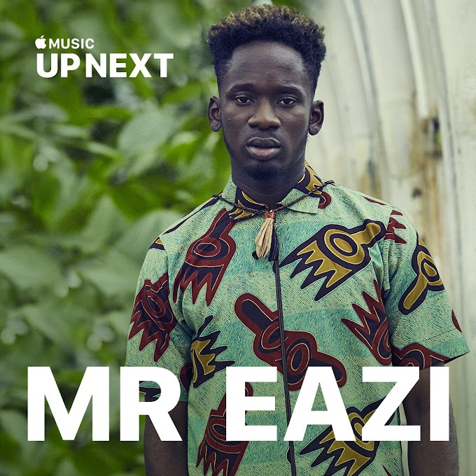 "Mr Eazi Features on Apple Music's ""Up Next"""