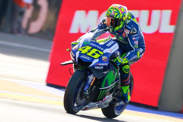 berita motogp Rossi butuh waktu untuk meyesuaikan diri dengan motor baru