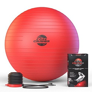 Allenati in casa con la palla fitness Core Crusher