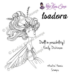 Kit and Clowder Online Colouring Classes: Isadora