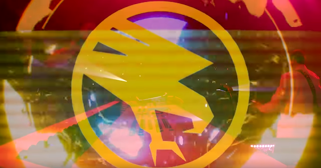 Screencap of music video featuring Frank Klepacki and Tiberian Sons
