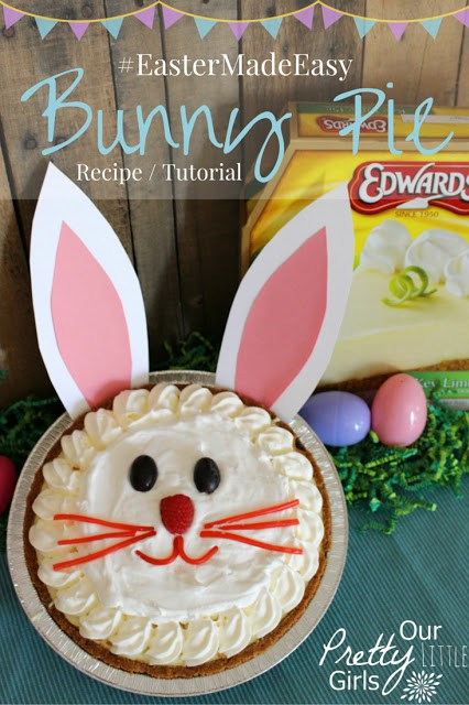 bunny pie tutorial via our pretty little girls