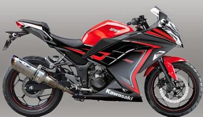harga motor kawasaki ninja 250 BEET terbaru