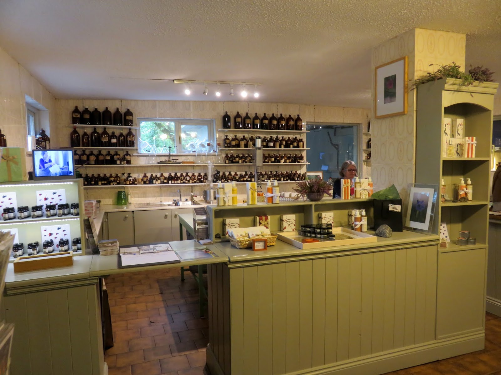 Burren perfumery tea rooms
