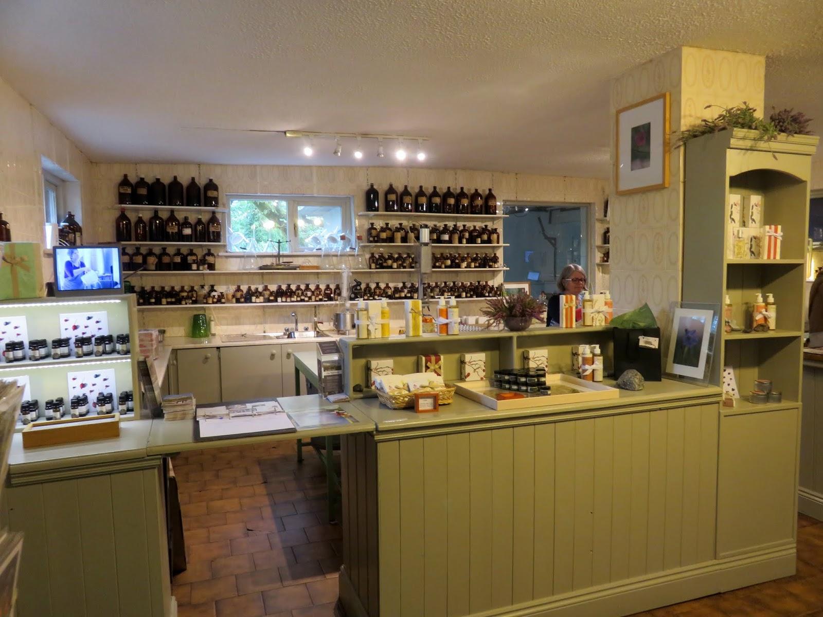Burren perfumery tea rooms