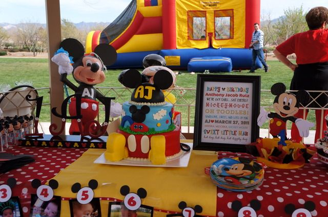 Ideas decoracion mickey mouse blogs de madres y bebes for Decoracion la casa de mickey mouse