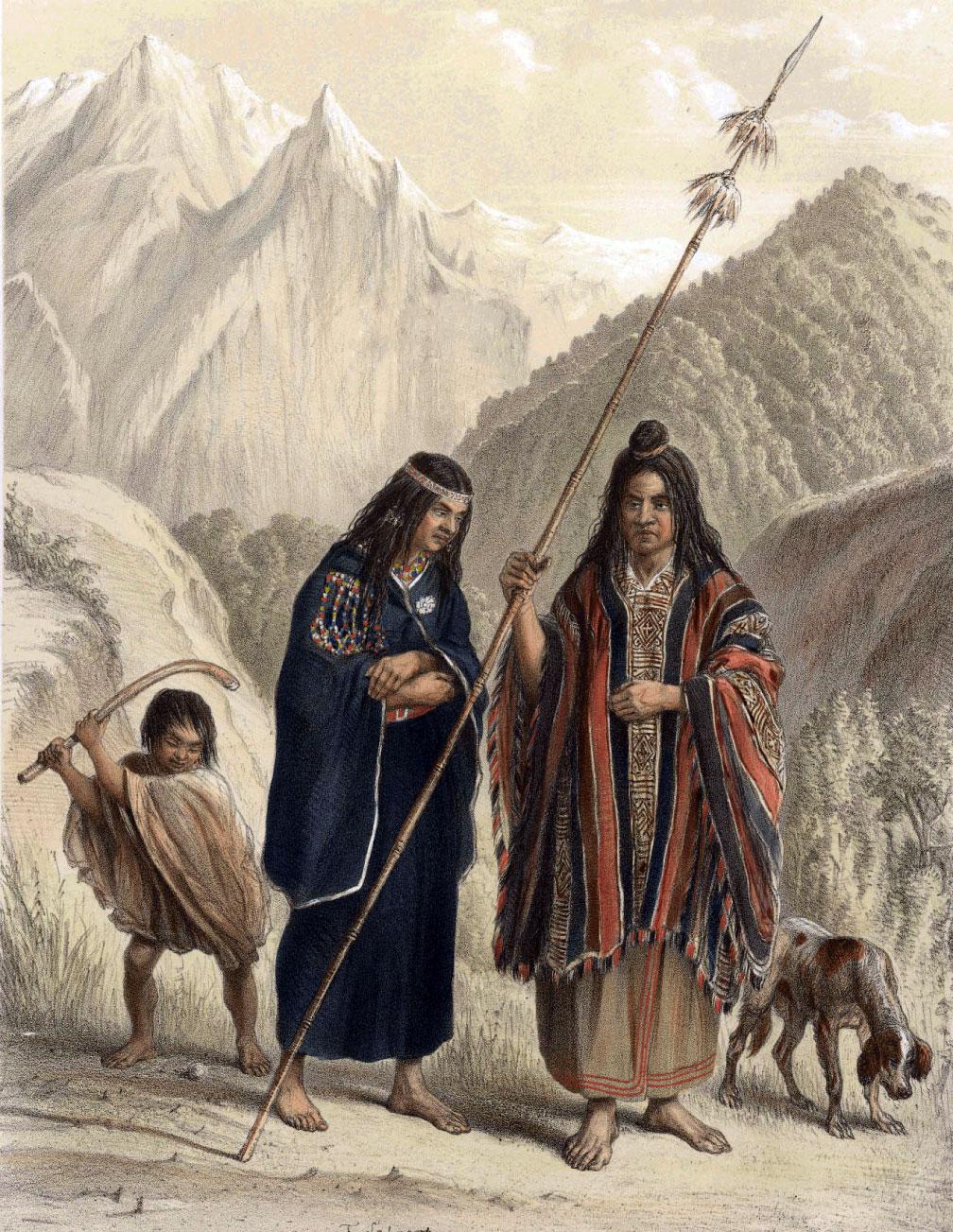 Cultura Araucana e os Araucanos