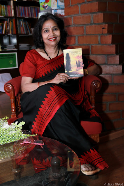 Interview with Manna Bahadur author of the book The Curse Of Nalanda