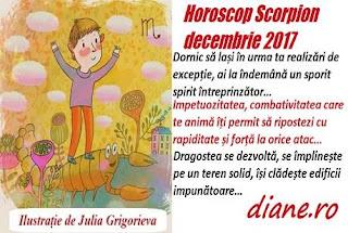 Horoscop decembrie 2017 Scorpion