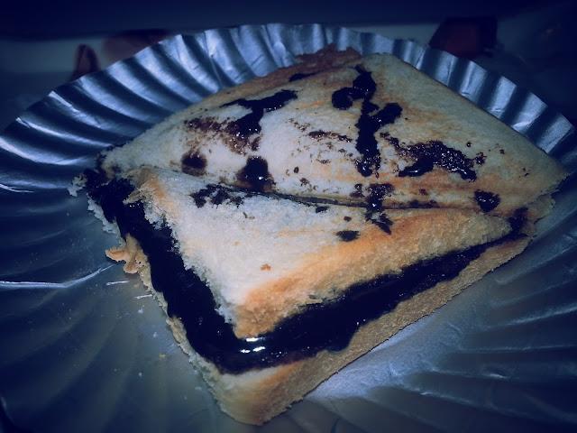 Nutella bread,   toasted ,Bread, snacks recipe , Nutella,