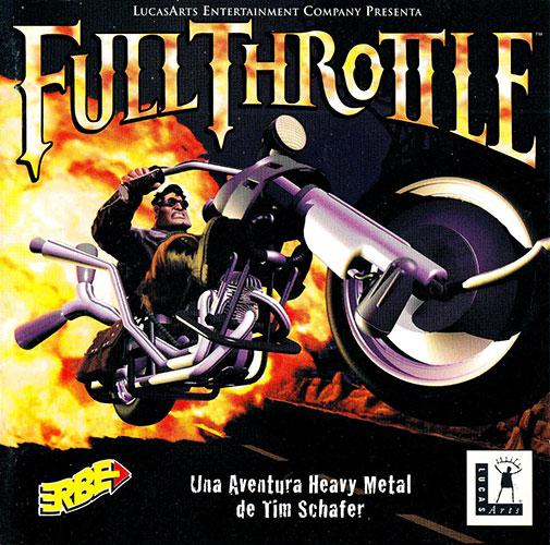 Full Throttle PC Estuche y manual