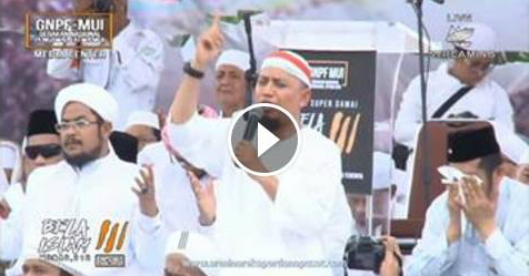 Karena Melihat Video Ini, Ustadz Arifin Ilham Tak Mampu Menahan Air Matanya