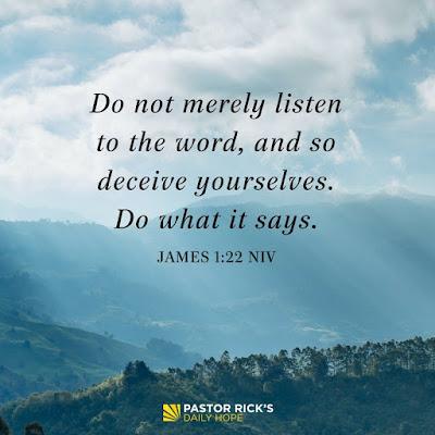 If You Believe It, Then Do It by Rick Warren