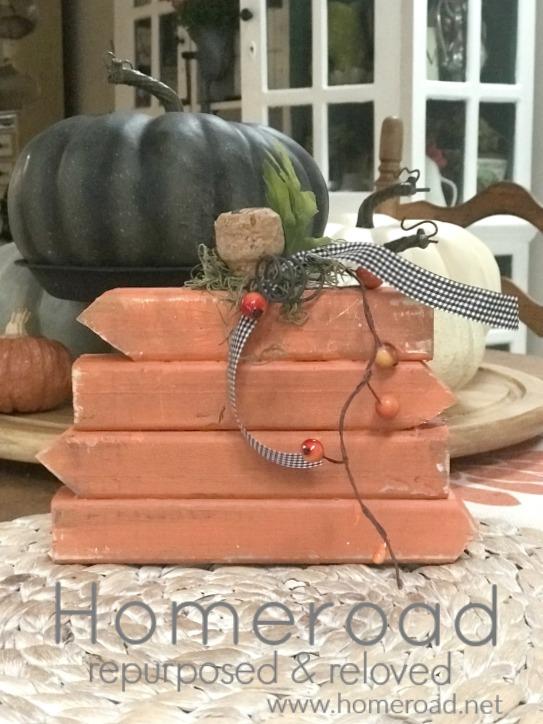 Scrap Wood Pumpkin Fall Project