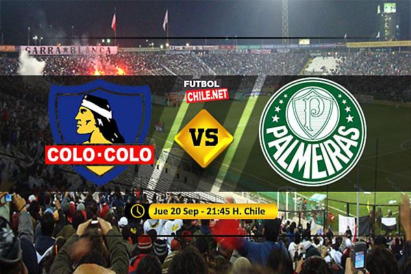 Colo Colo vs Palmeiras: Previa, horario, dónde ver en vivo por TV y online por los Cuartos de Final Ida de la Copa Libertadores