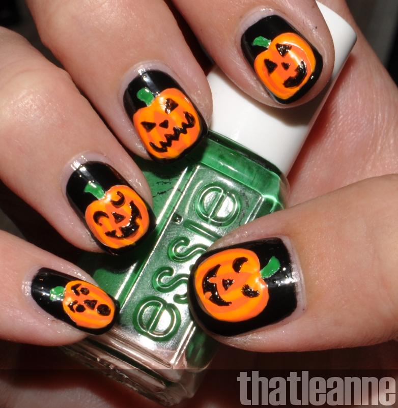 thatleanne: OPI Spookettes Halloween 2011 and Jack o ...