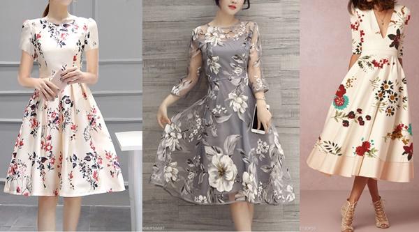 Invista em Vestidos Florais no Verão - FashionMia