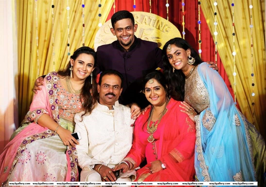 South Indian actress Radha and husband Rajasekaran Nair recently celebrated their th wedding anniversary