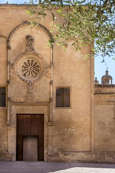 San Domenico facade matera italy via visit matera dot com as seen on linenandlavender.net