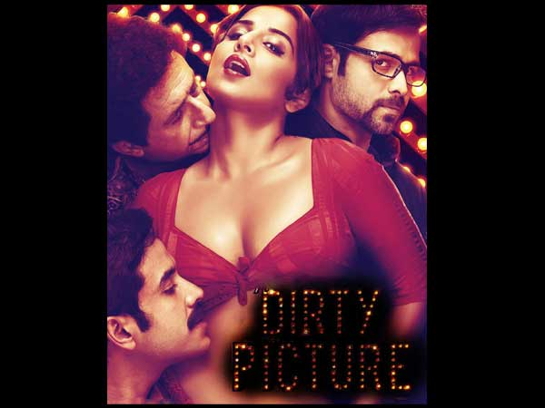 Vidya Balan in The Dirty Picture, most controversial posters of bollywood