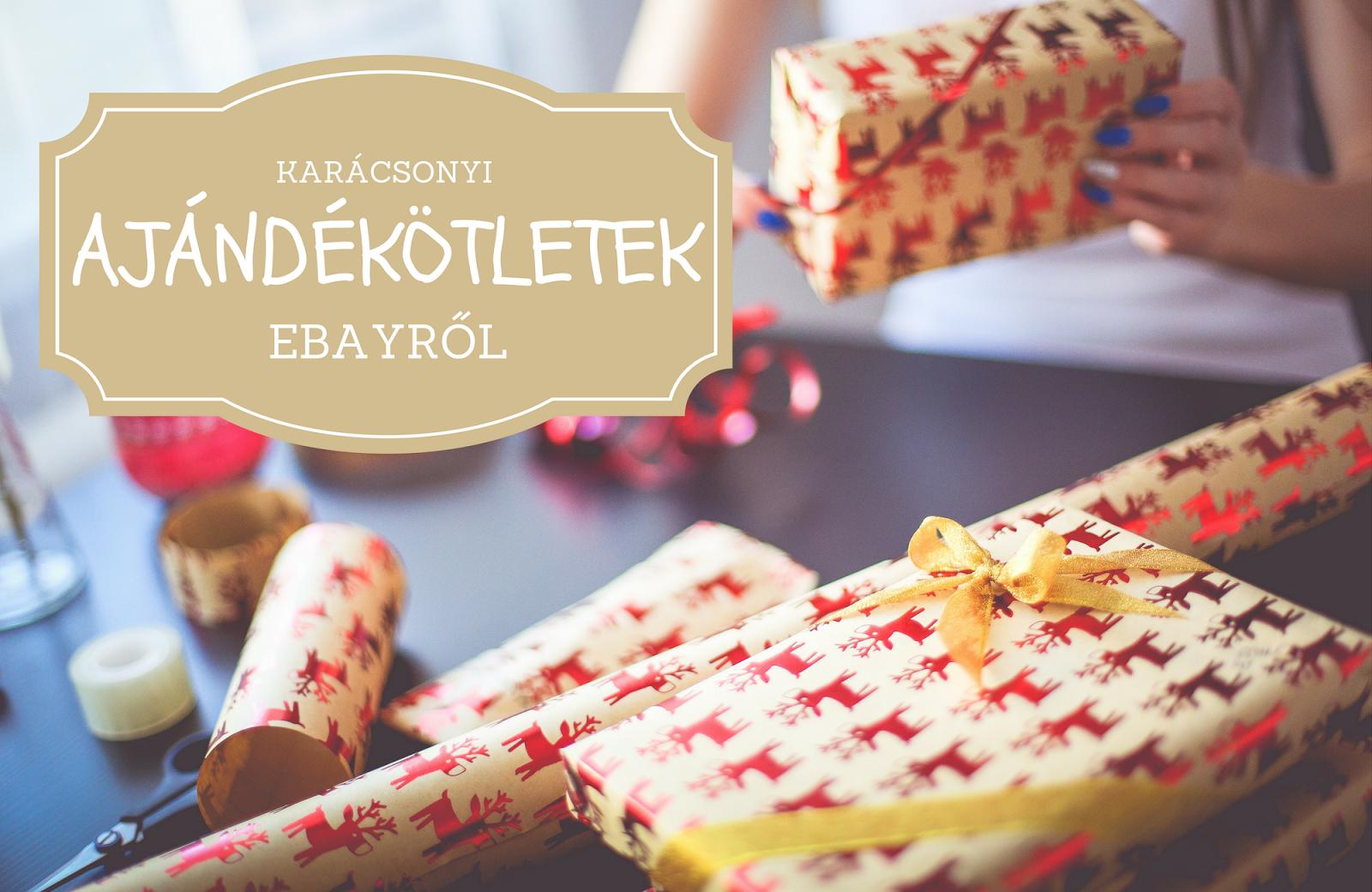 d80f060635 Bár még másfél hónapot kell várnunk az ünnepekre, sokakon már most  elkezdett uralkodni a karácsonyi hangulat. Ezt fokozandó ismét egy eBayes  bejegyzést ...