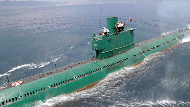 """Detectan una """"actividad inusual"""" de submarinos norcoreanos"""