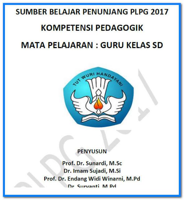 Download Modul Pedagogik Materi PLPG 2017 Jenjang SD