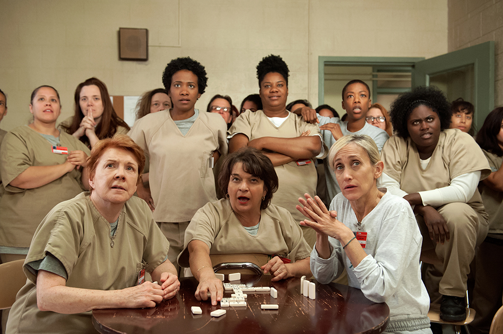 Algunas de las protagonistas de 'Orange Is The New Black'