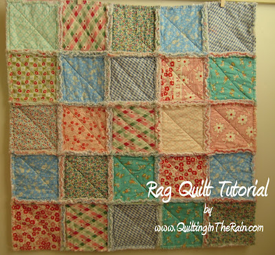Baby Rag Quilt Patterns For Beginners Sewing Patterns