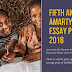 Submit For Amartya Sen Essay Prize 2018 – $8,000 First Prize