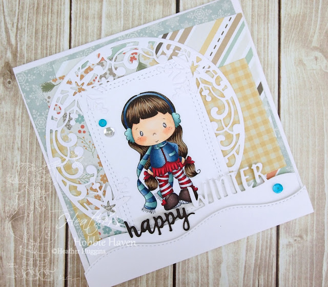 Heather's Hobbie Haven - Lucy with Scarf Card Kit