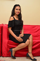 South Actress Amulya in short black dress at Kalamandir Foundation 7th anniversary Celebrations ~  Actress Galleries 043.JPG