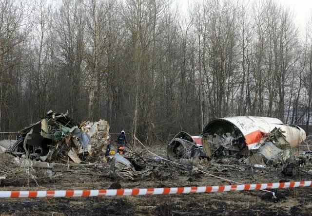 O governo russo impediu que investigadores independentes analisassem os restos do avião polonês.