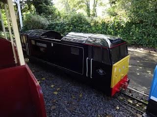 Dragon Miniature Railway at Marple's Wyevale Garden Centre