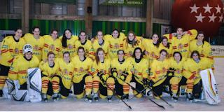 HOCKEY HIELO - Título mundial para España en División II Grupo B femenina y ascenso