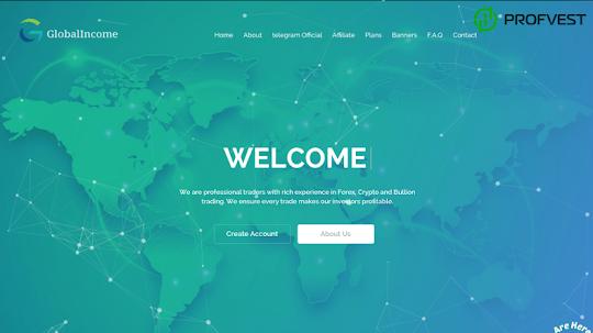 GlobalIncome Limited: обзор и отзывы о globalincome.io (HYIP платит)