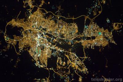 Uzaydan Ankara
