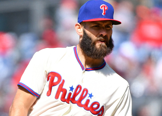Jake Arrieta takes the hill for the Phillies