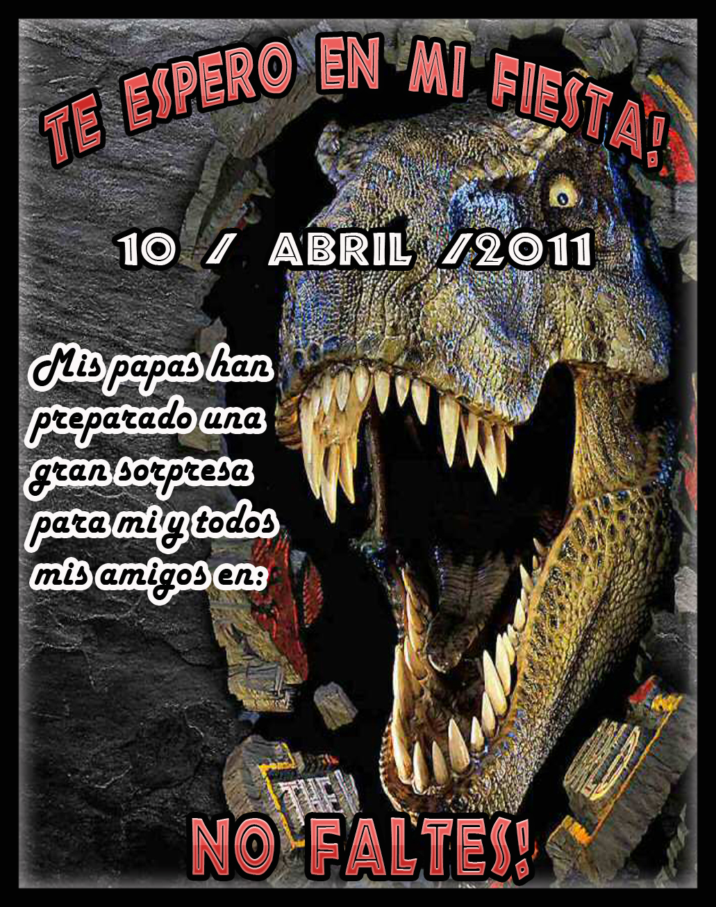 Kit Imprimible Jurassic Park Www Decokit Com