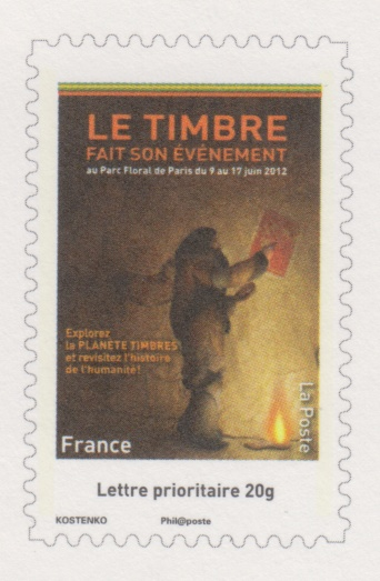 blog philat lie cartes postales du salon du timbre. Black Bedroom Furniture Sets. Home Design Ideas
