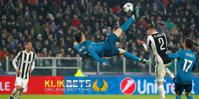 Gol Salto, Ronaldo Melayang 2,38 Meter di Atas Tanah
