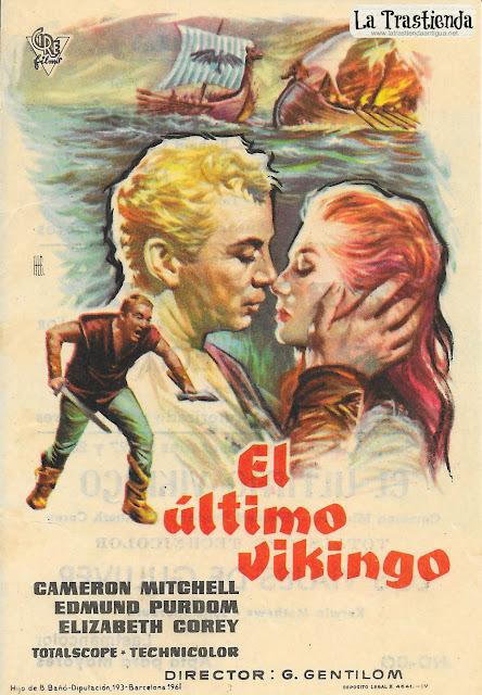 El Ultimo Vikingo - Programa de Cine - Cameron Mitchell - Edmund Purdom