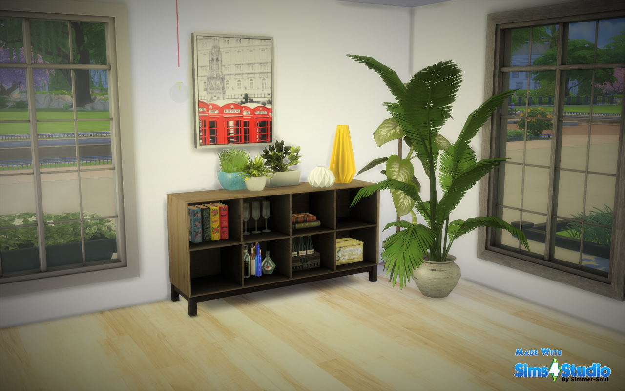 my sims 4 blog: ikea nornÄs sideboard by simmersoul