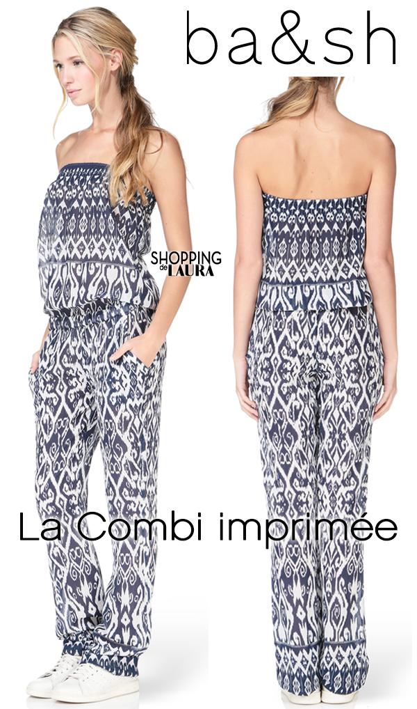 Combi-pantalon femme bustier BA&SH