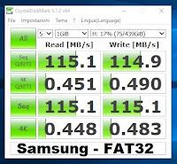 velocità-samsung-fat32