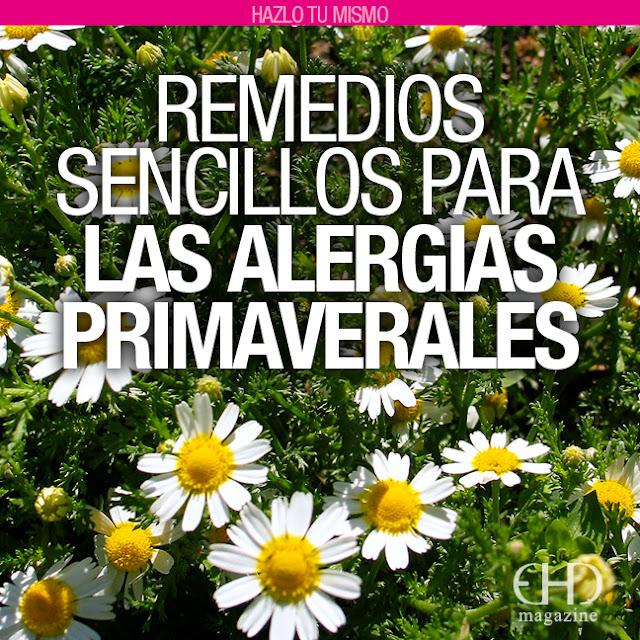 hazlo tú mismo remedios sencillos para alergias primaverales, EHD magazine, ÚLTIMOS ARTÍCULOS PUBLICADOS, Virginia Ceballos, trucos naturales, revista digital espiritualidad, tisanas para alergia primaveral,