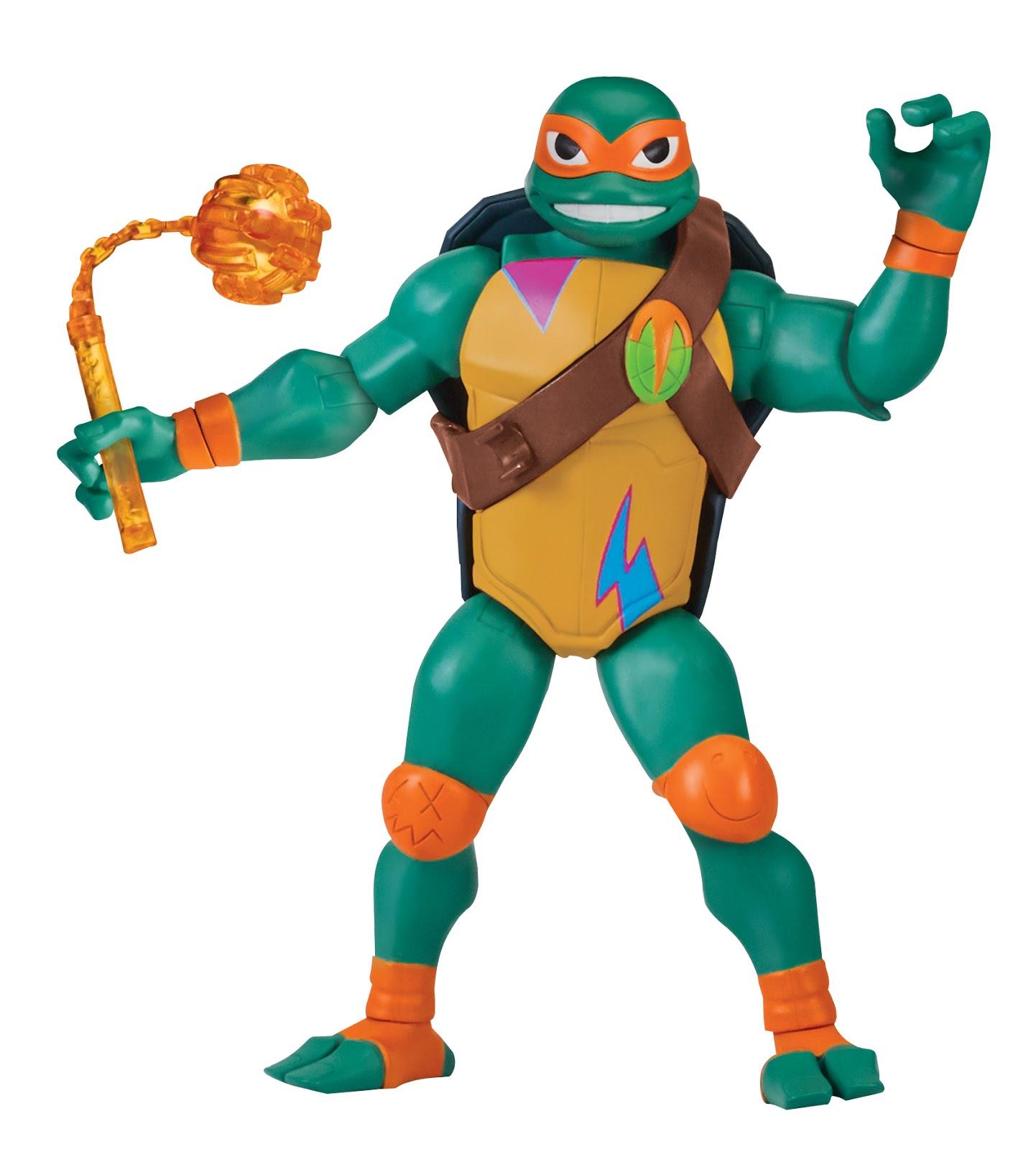 Toys Ninja Turtlw : Nickalive playmates toys to showcase new rise of the