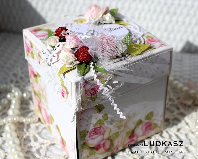 Ślubny exploding box-DT Craft Style