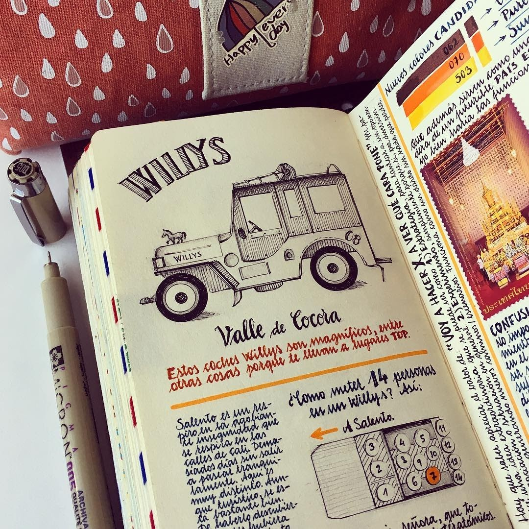 09-This-Willys-is-a-tough-and-tiny-car-Jose-Naranja-Urban-Drawings-Travel-Journal-www-designstack-co