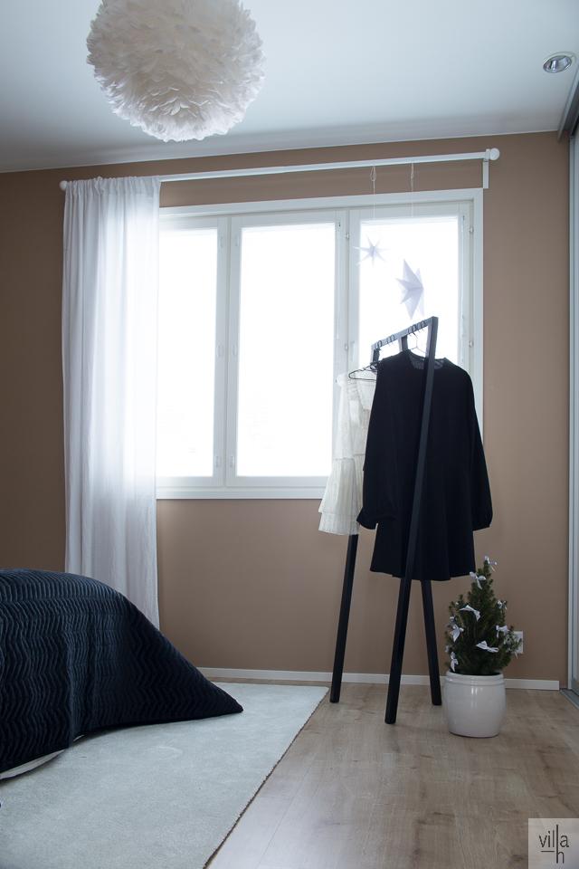 villa h, makuuhuone,